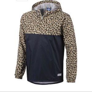 Adidas Leopard Windbreaker NWOT